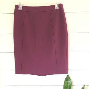 Halogen Plum Pencil Skirt - sz 4P